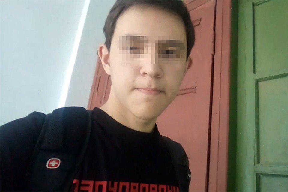 Скриншот с видеозаписи, записанной подростком перед нападением