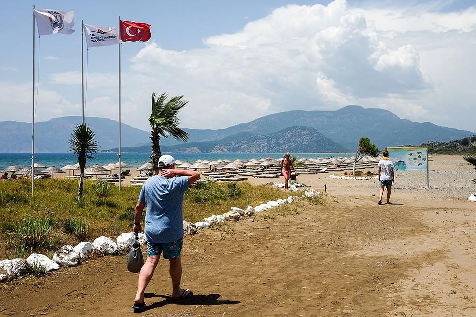 В 2018 году на курортах Турции отдохнули 6 миллионов россиян.
