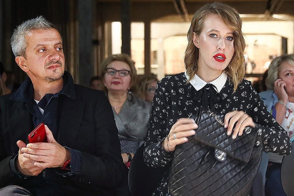 Константин Богомолов и телеведущая Ксения Собчак. Фото Валерий Шарифулин/ТАСС