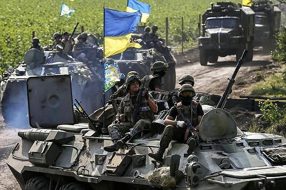 Президент Украины рассказал американцу о храбрости своих воинов.