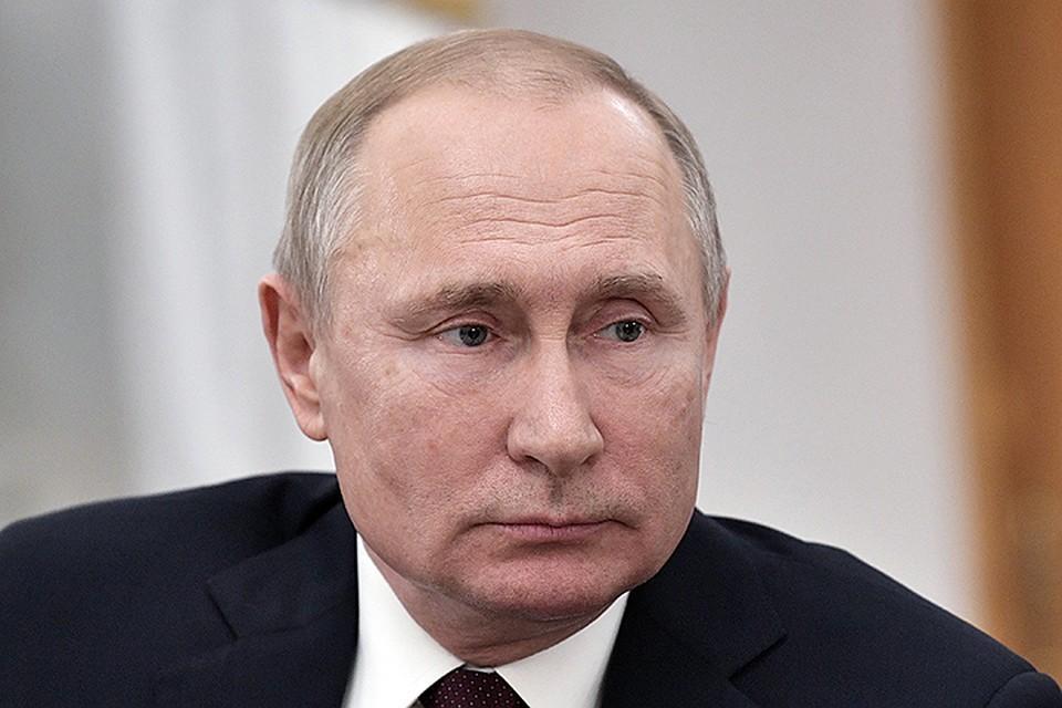 Владимир Путин. Фото: Алексей Никольский ТАСС