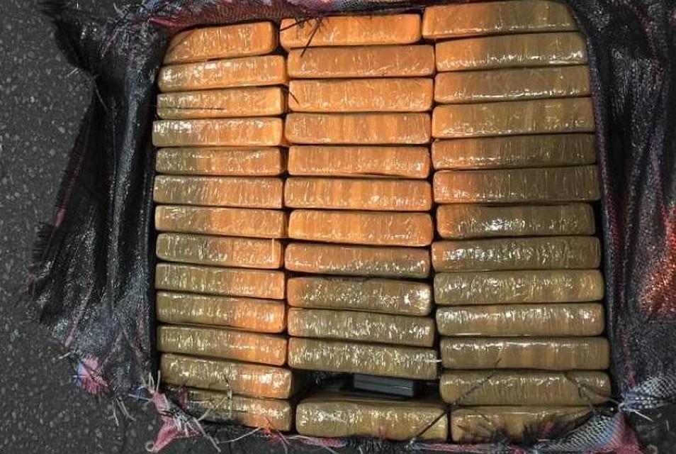 Кокаин был в брикетах Фото: ФТС