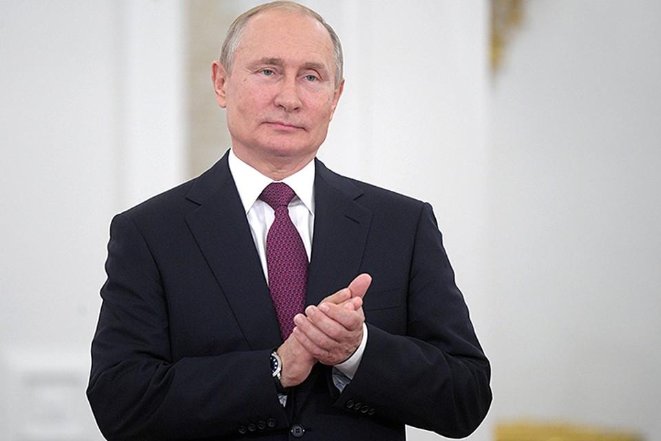 Президент ответил на вопросы телекомпании «Мир»