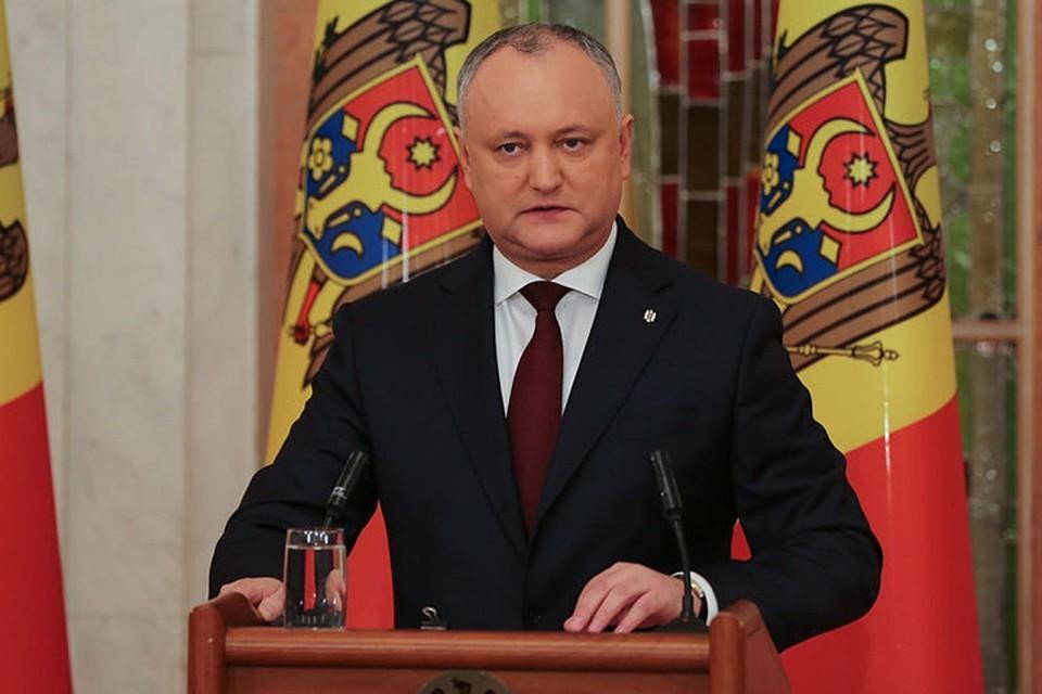 Игорь Додон, президент Молдовы.