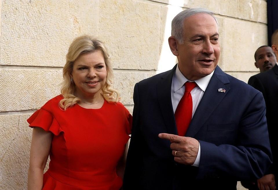 Премьер-министр Израиля Биньямин Нетаньяху и его супруга Сара
