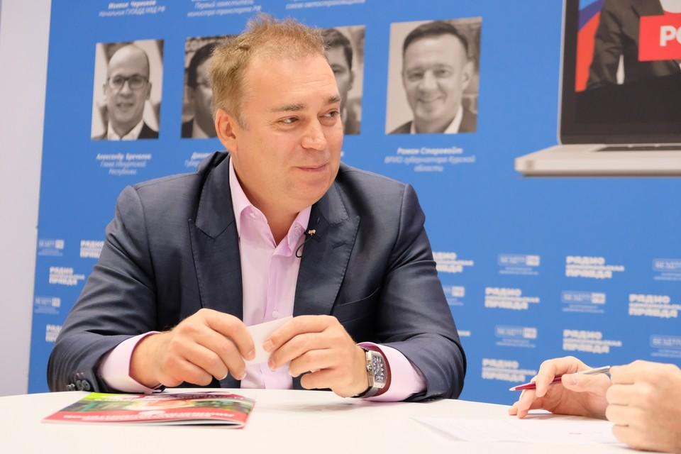 Член попечительского совета благотворительного фонда Dadobro Андрей Игнатьев.