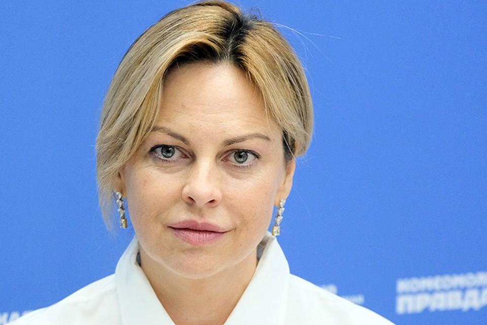 Заместитель директора Фонда Росконгресс, директор социальных программ, директор Фонда «Инносоциум» Елена Маринина