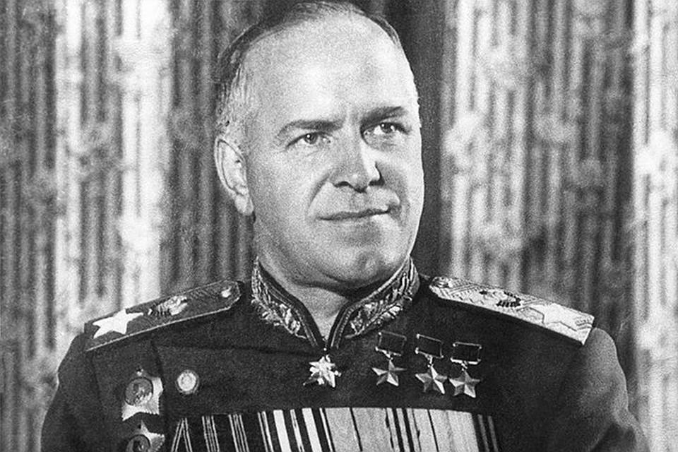 Советский полководец Георгий Жуков