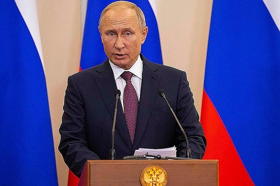 Москва путину рф задать вопрос 2019