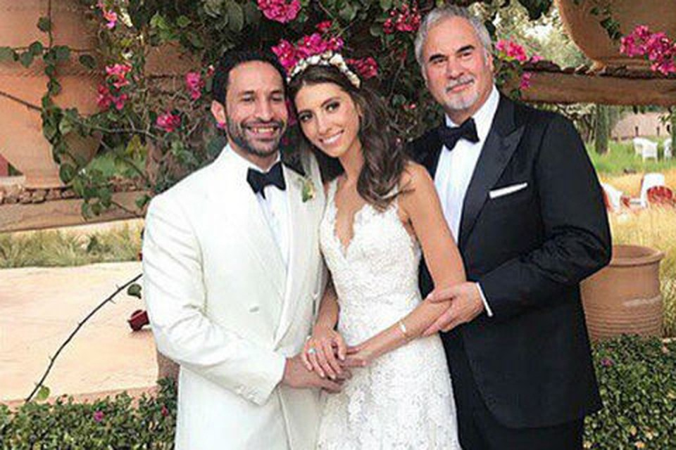 Дочь Валерия Меладзе рассталась с мужем, марокканским журналистом Нури Вергезе через два года после свадьбы. Фото: Инстаграм.