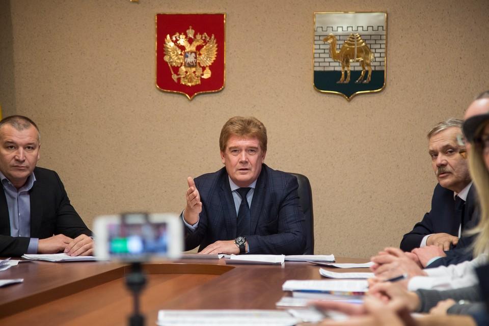 Владимир Елистратов написал заявление об отставке по собственному желанию.