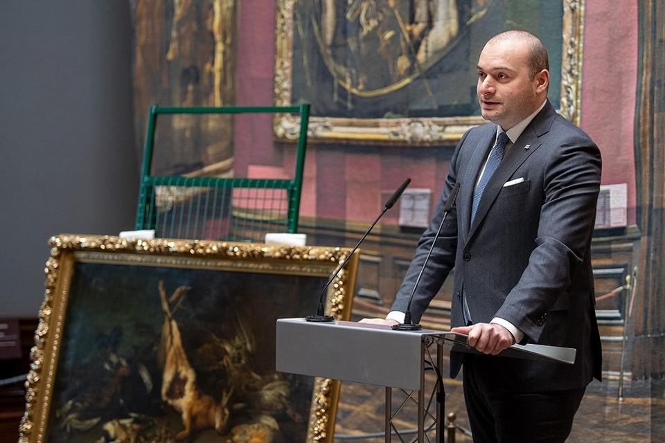 Премьер-министр Грузии Макмука Бахтадзе