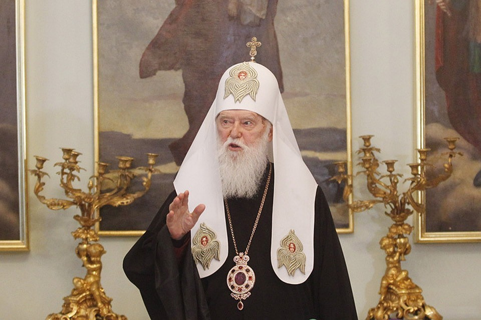 Филарет, глава почившей в бозе УПЦ, провел свой собор, где объявил свою раскольничью конфессию «живее всех живых»