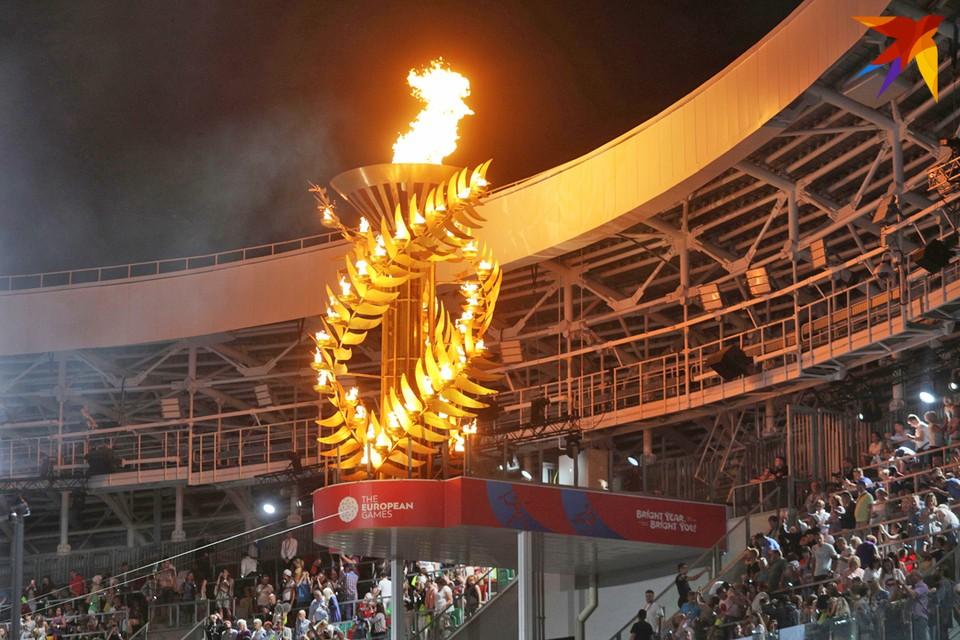 На II Европейские игры Беларусь потратила 540 млн рублей.