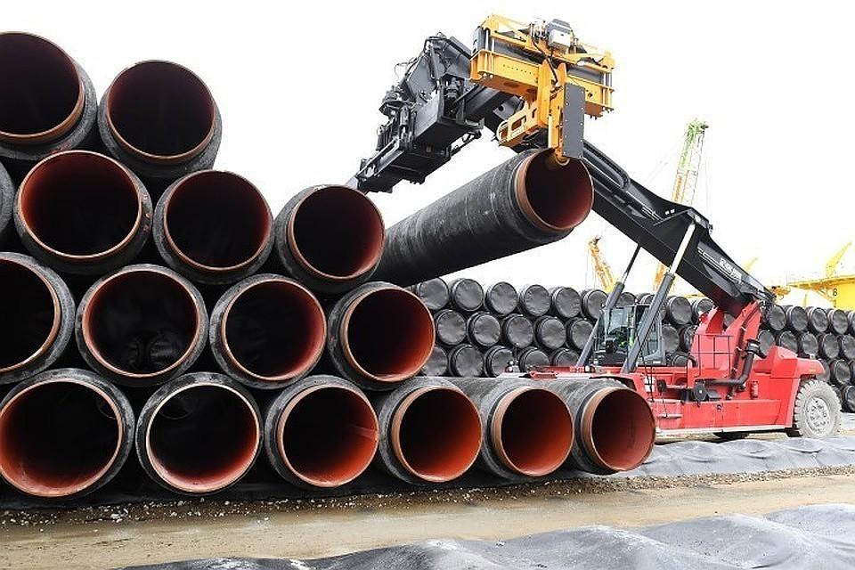 """Строительство """"Северного потока -2"""" может задержаться из-за Дании"""