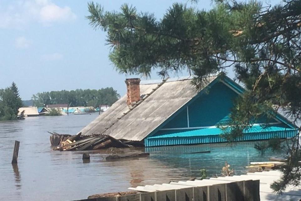 Тысячи домов затоплены.