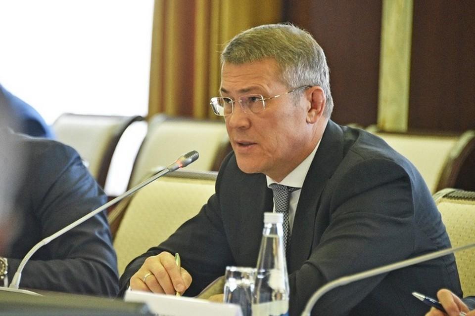 Хабиров сорвался на вице-премьера Башкирии