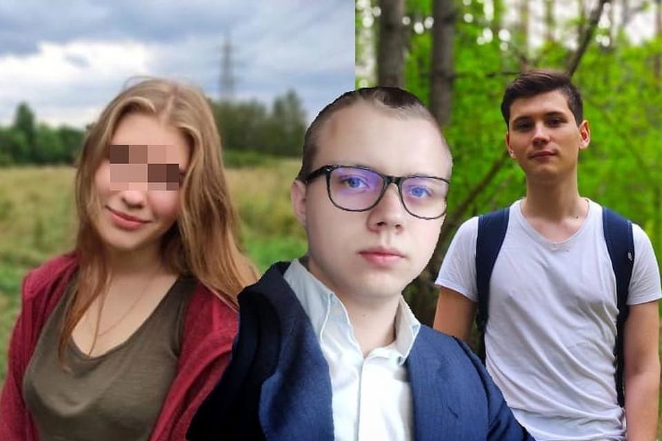 Любовный треугольник закончился трагедией. Максим (крайний справа) расстрелял Павла (посередине) в торговом центре на глазах у своей бывшей девушки Леры.