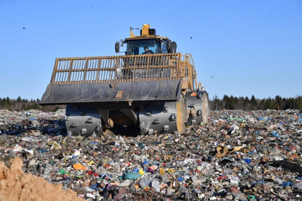 В регионе есть перебои в приеме отходов на полигоны