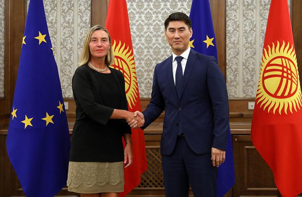 Глава МИД поблагодарил Евросоюз за поддержку приоритетных направлений развития Кыргызстана.