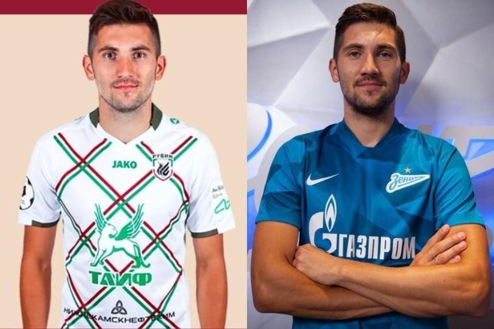 """Фото: ФК """"Рубин"""" / ФК """"Зенит""""."""