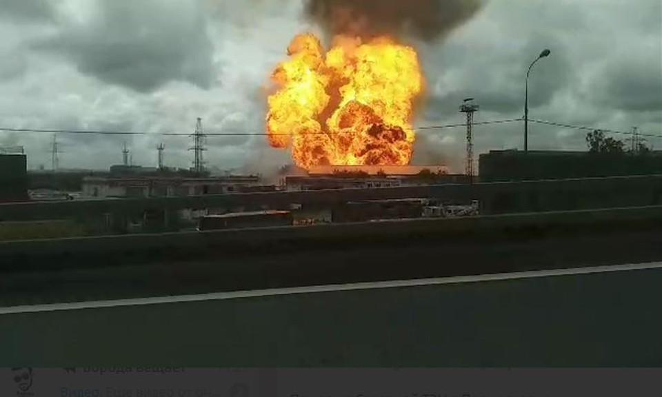Пожар на ТЭЦ в Мытищах локализован