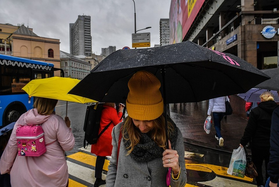 В пятницу в Москве ожидается до 16 градусов тепла и дождь