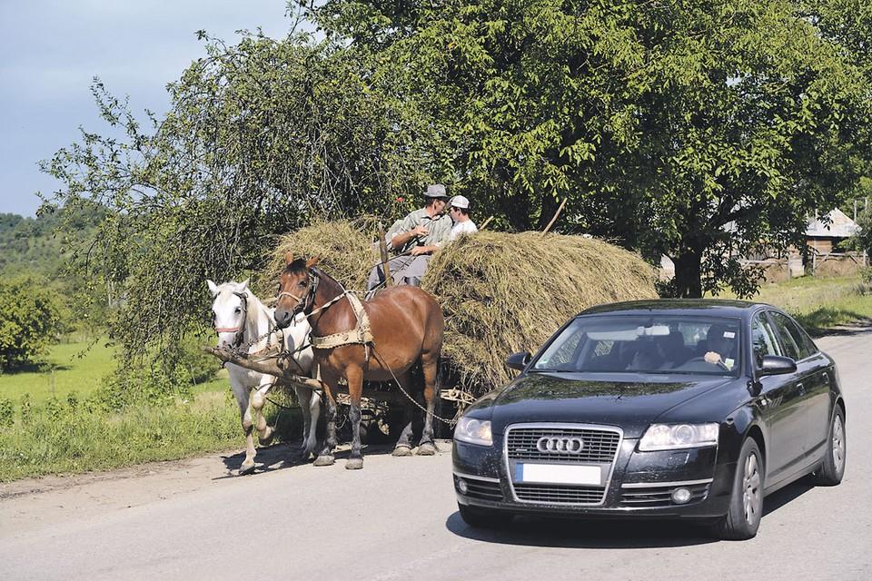 - Я слышала, что в шахматах кони ходят буквой «Г». - Это что! Некоторые буквой «Г» ездят!