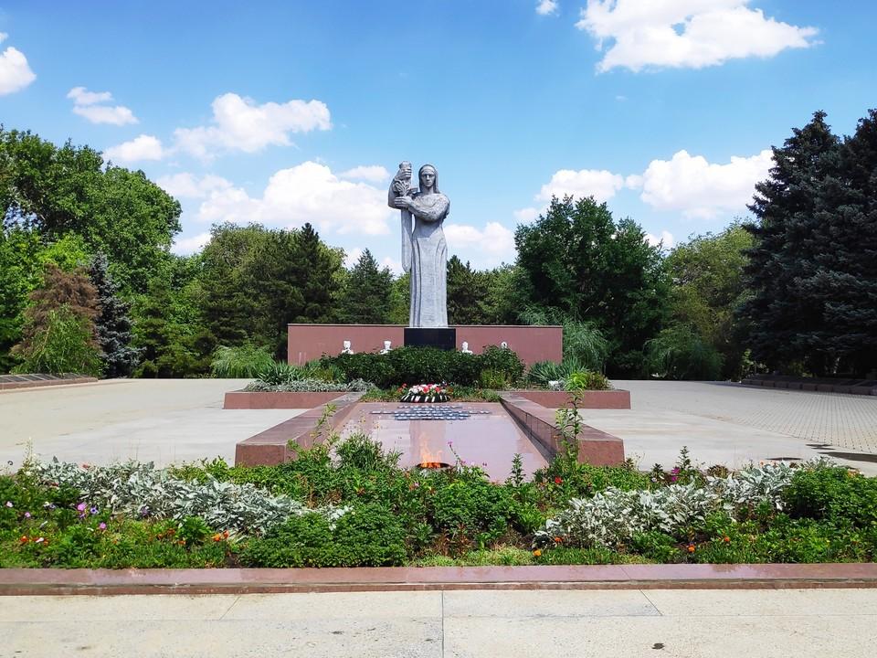 Мемориал в Ипатово
