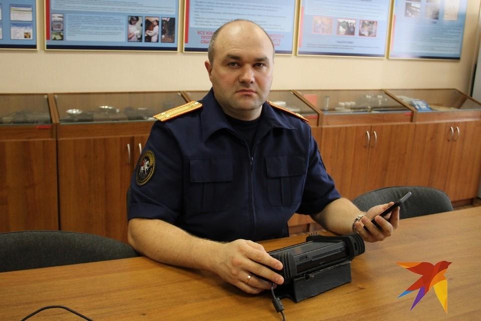 Старший следователь-криминалист Иван Трибунько: Это работа, которая не дает тебе возможности хотя бы на одну минуту отключить телефон, даже если ты в отпуске.