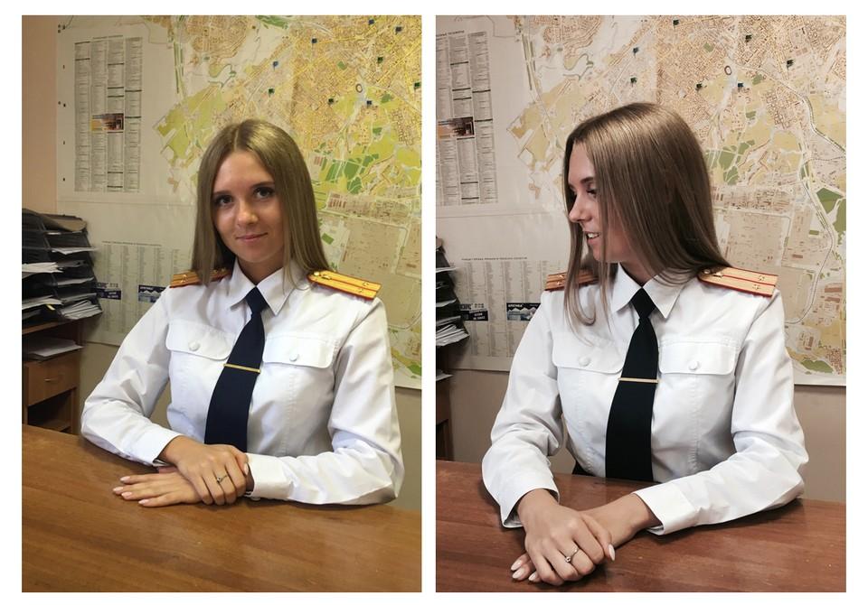 Татьяна Семина на рабочем месте.