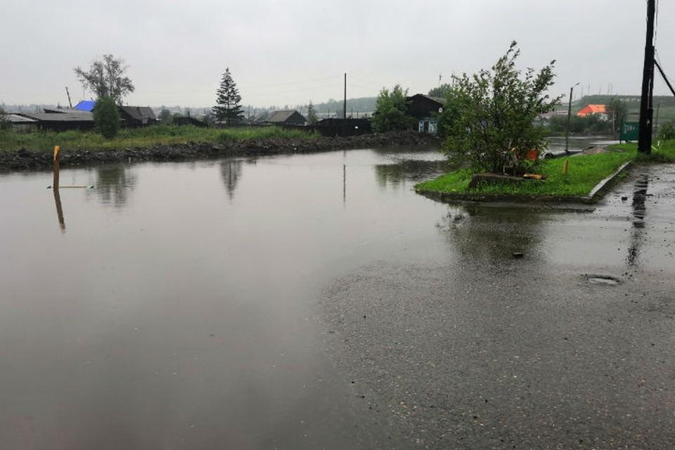 Наводнение в Иркутской области: Тулун снова топит, ждать ли новой большой воды. Фото: соцсети.