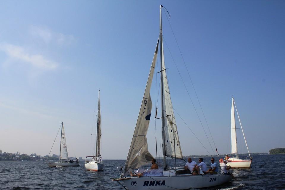 Самарские яхтсмены радуются таким соревнованиям. Фото: Мария Елуферьева