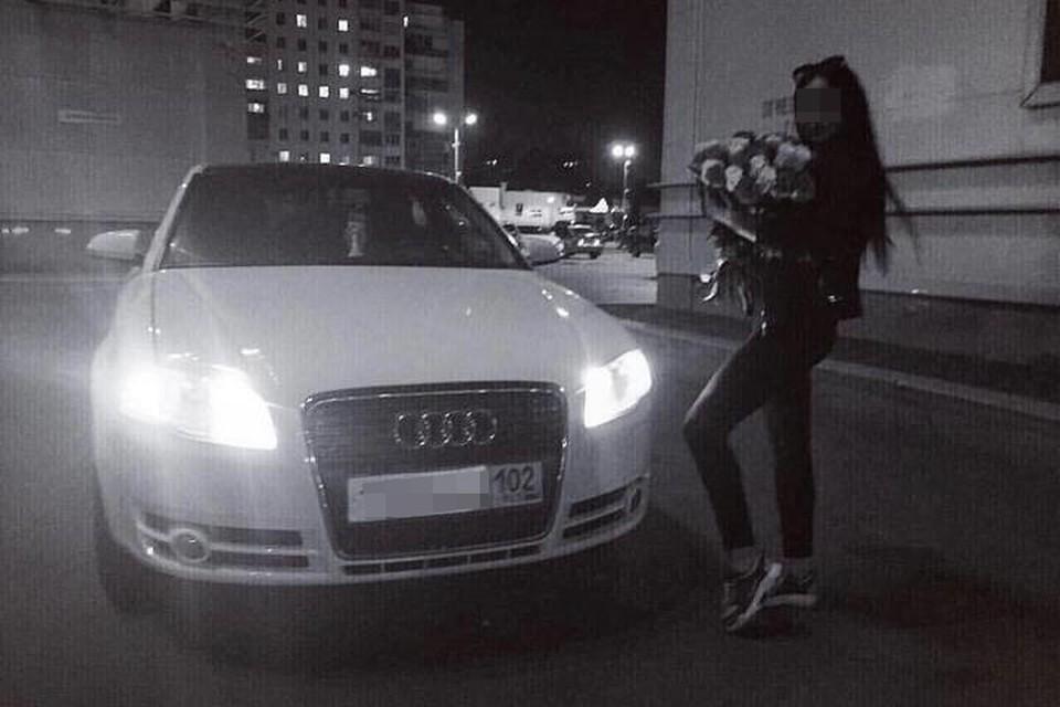 Водителю Audi Ангелине всего 21 год