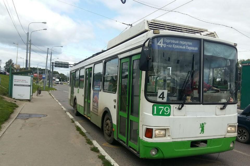 Вместо троллейбуса №4 будет ходить автобус №4т.