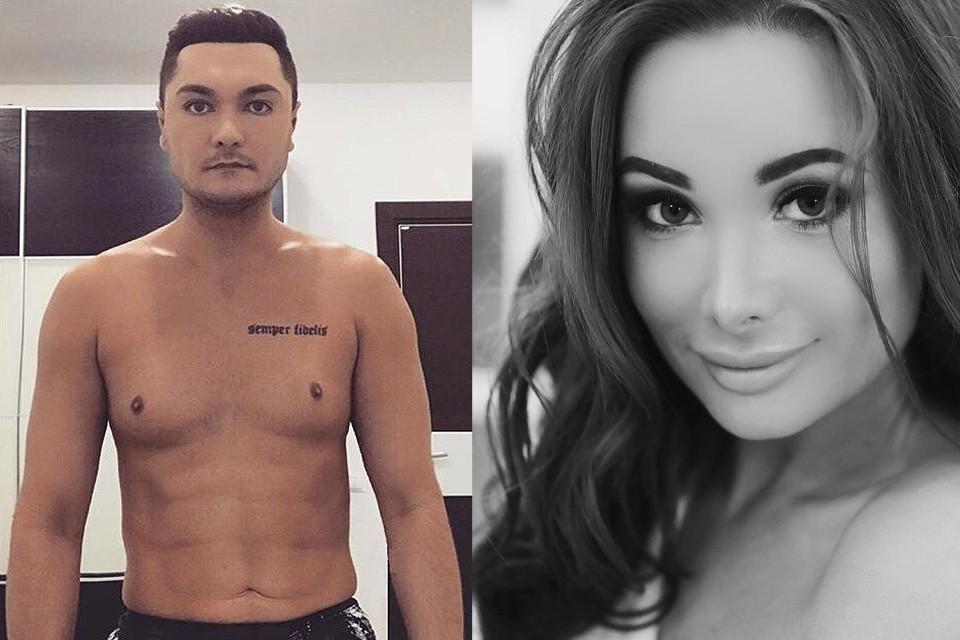 Убийца Максим Гареев и его жертва Екатерина Карагланова.