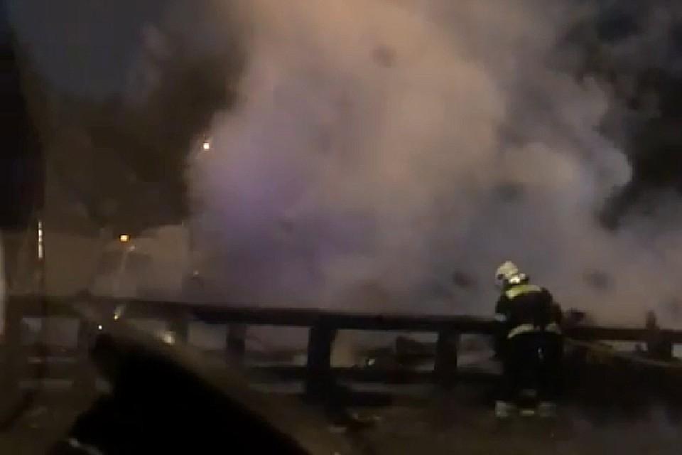 ДТП на повороте в аэропорт Внуково унесло жизни двух человек Фото: instagram.com/melkiy.5/