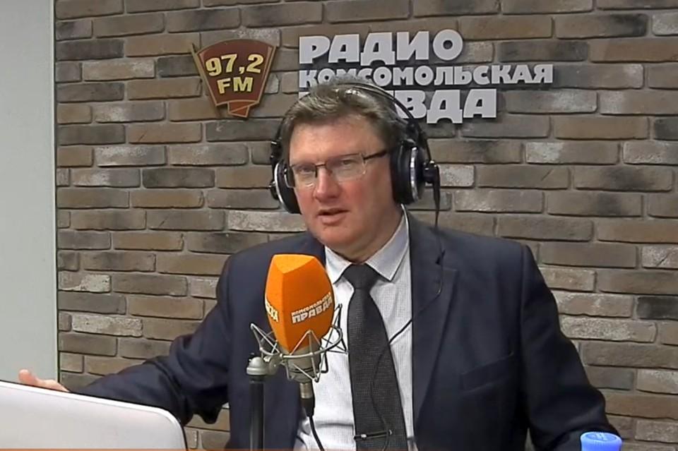Заместитель начальника Главного управления по обеспечению безопасности дорожного движения Министерства внутренних дел РФ Олег Понарьин
