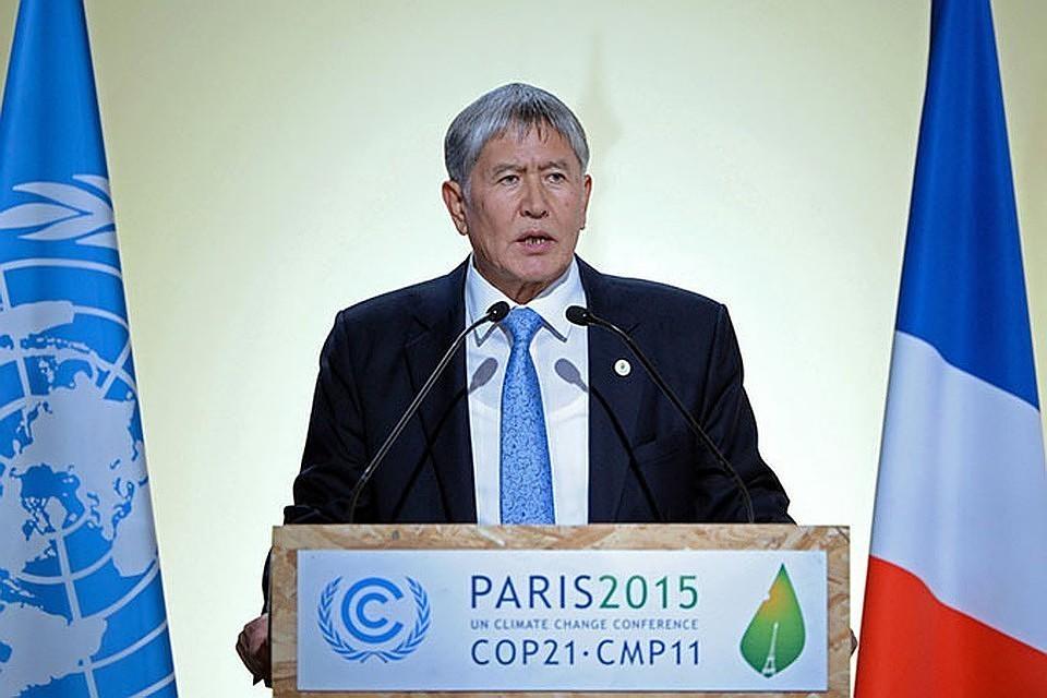 Алмазбек Атамбаев, экс-президент Киргизии