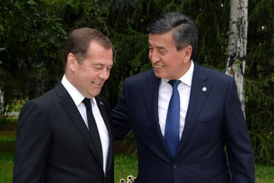 По мере возможности стараемся оказать помощь и поддержку нашему другу и партнеру – Кыргызстану, сказал Медведев.