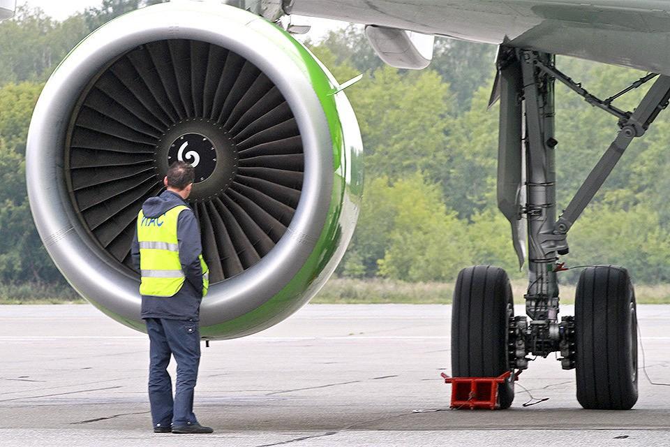 Основная версия аварии в Подмосковье - попадание в двигатель инородного предмета.