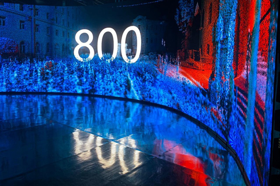 Павильон предстоящего 800-летия Нижнего Новгорода начал свою работу на фестивале Alfa Future People