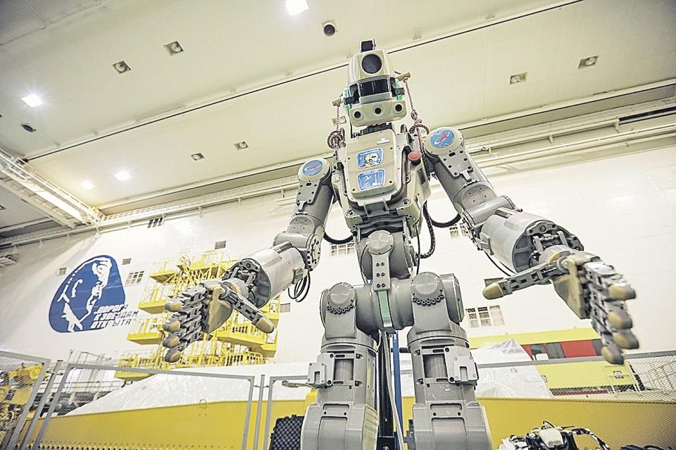 Внутри космических кораблей робот может заниматься техническим обслуживанием на случай отсутствия экипажа. Фото: пресс-служба Роскосмоса