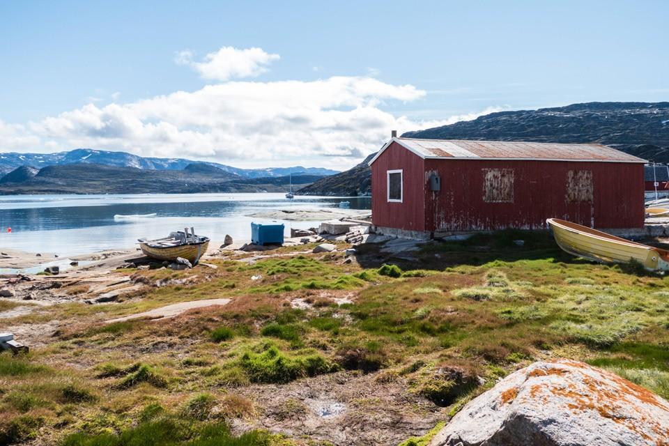 Лето в Гренландии.