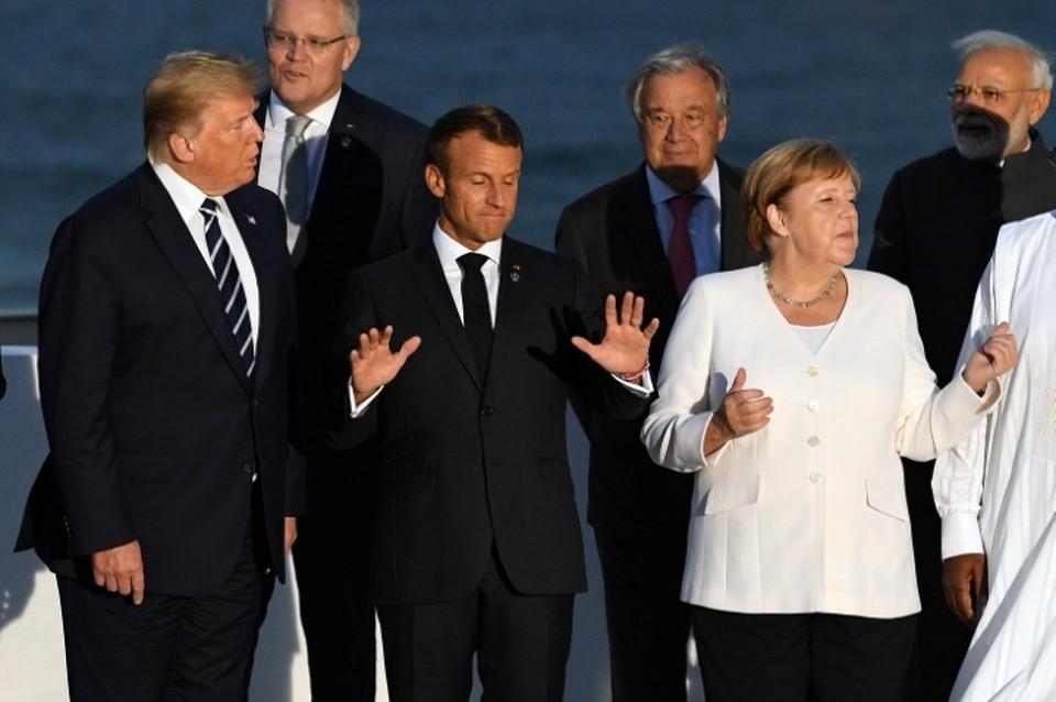 По данным Guardian, лидеры «Большой семерки» перессорились из-за России