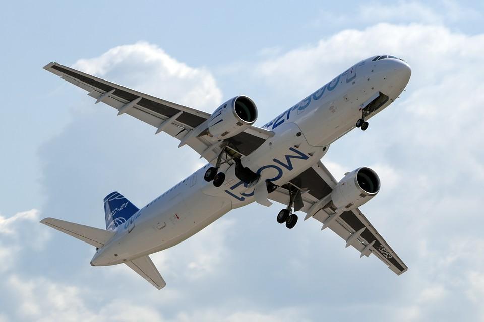 МАКС-2019 станет местом мировой премьеры новейшего российского пассажирского среднемагистрального лайнера МС-21