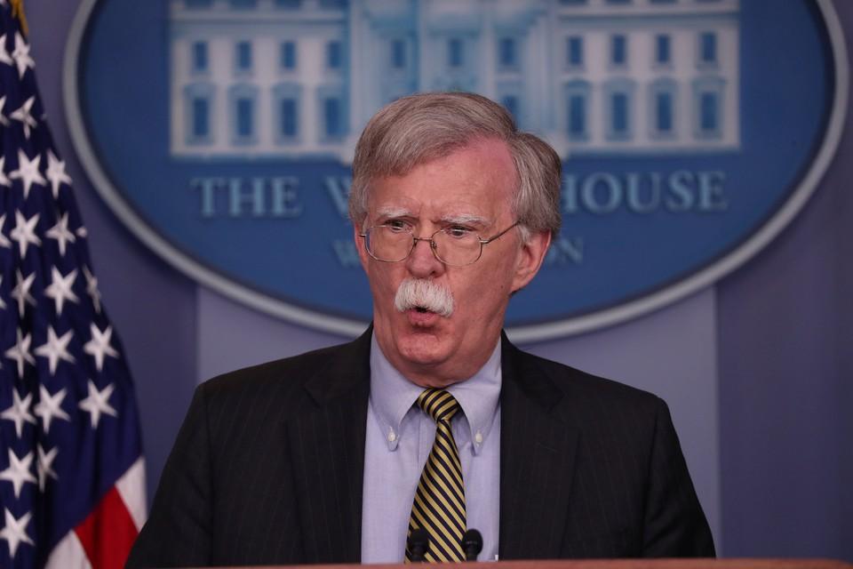 Советник американского лидера по национальной безопасности Джон Болтон