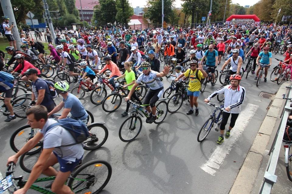 Велопробег «Тур Де Кранц» в 2018 году