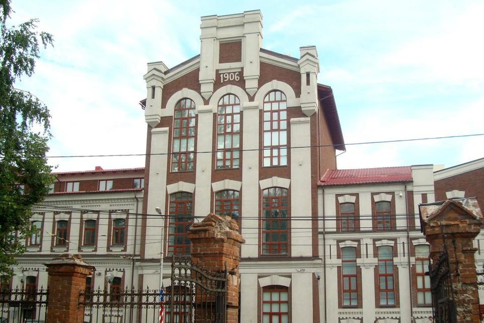Здание Самарского ликеро-водочного завода.