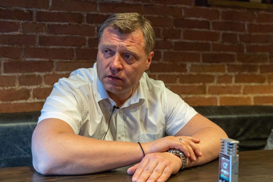 Врио губернатора Астраханской области Игорь Бабушкин